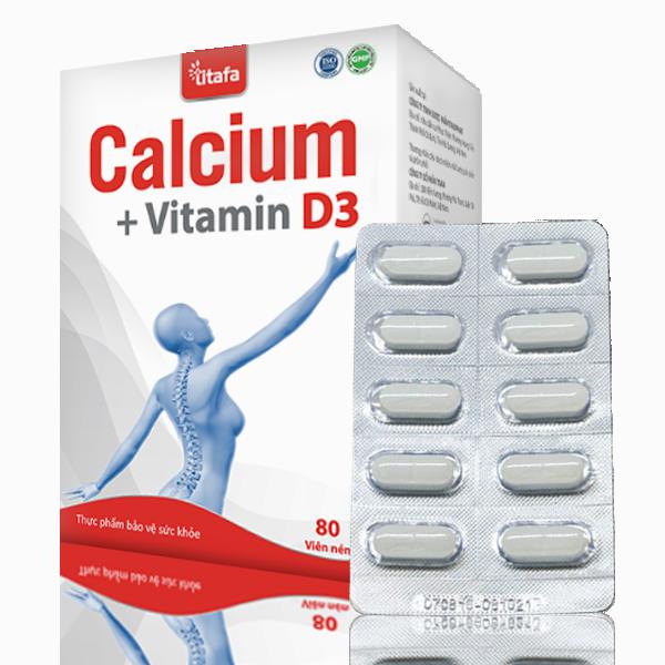 Viên CALCIUM+VITAMIN D3